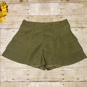 Addie Velvet Shorts {Anthropologie}